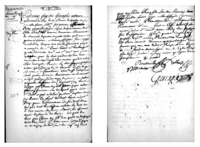 Florentin Pertuy engagement
